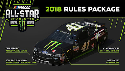 Monster Energy #NASCAR All-Star Race - 2018 Rules Package