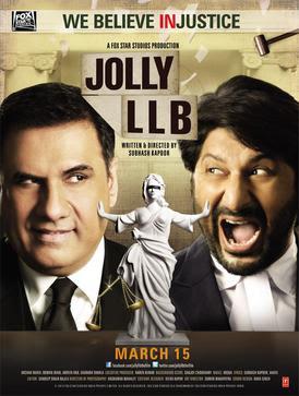 Jolly LLB - Poster