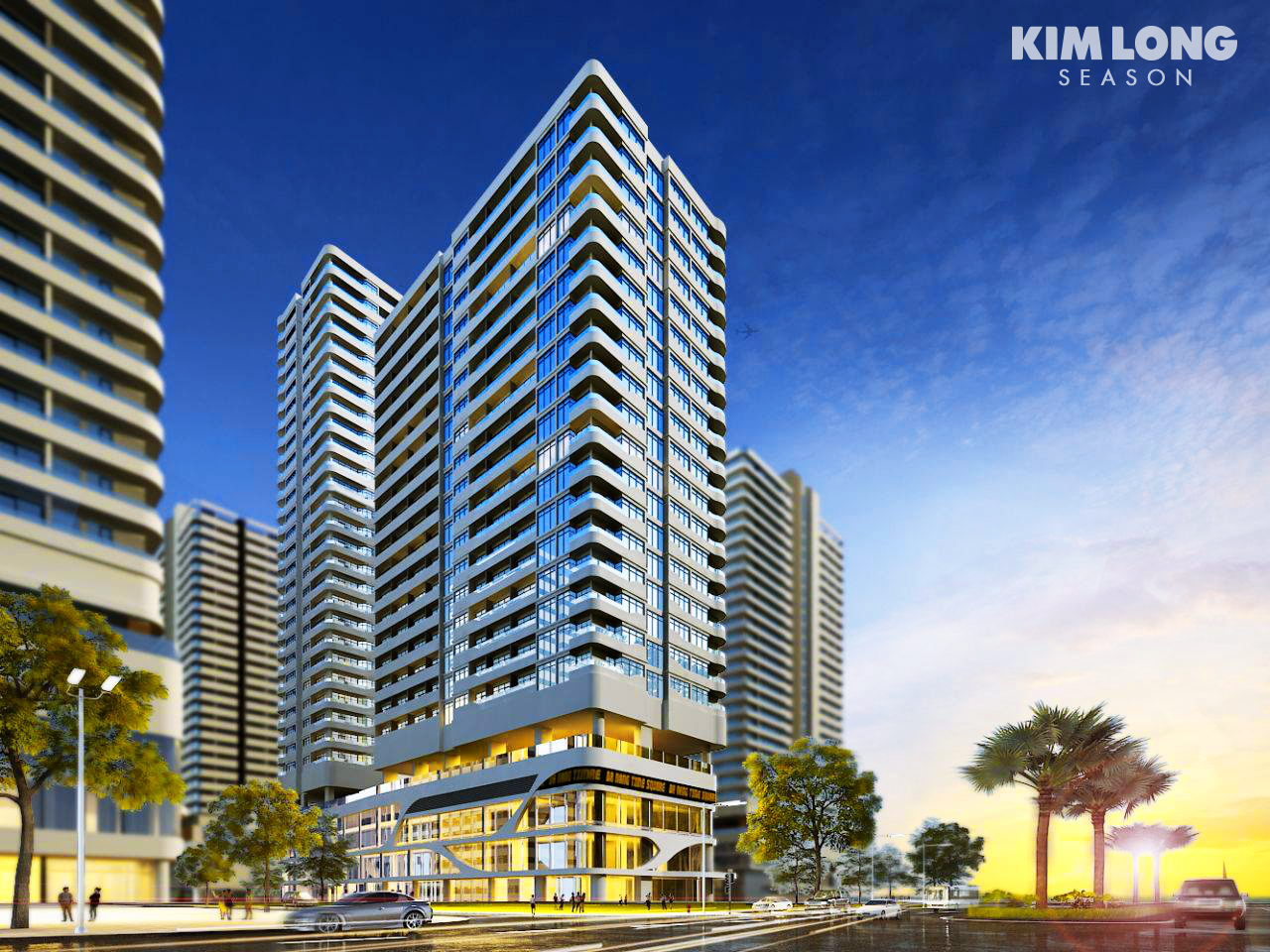 Phối cảnh dự án Kim Long Ocean Đà Nẵng