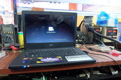 Service Laptop Acer es14-421 no display