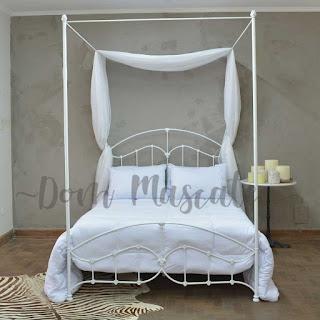 cama de noiva em quarto decorado dom mascate