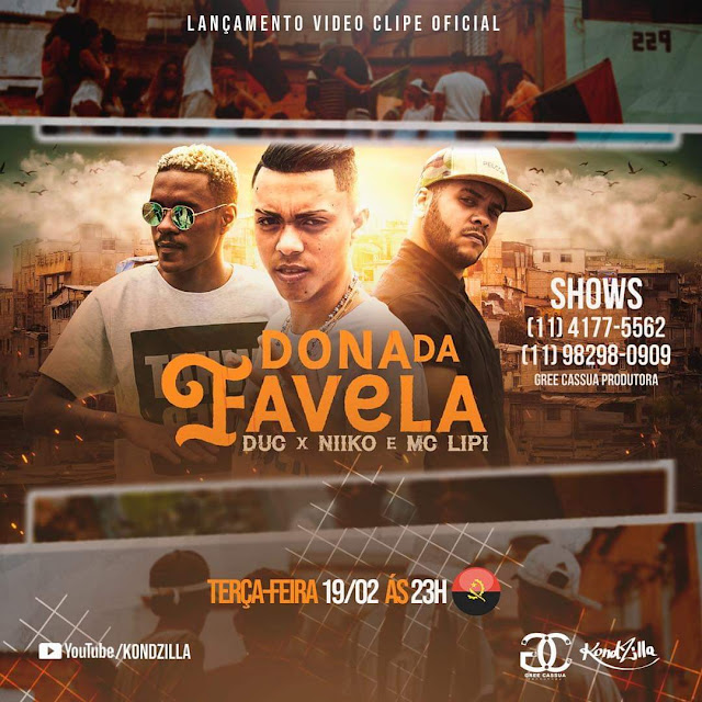 Download Mp3 DucxNiiko ft. MC Lipi - Dona Da Favela (Remix)
