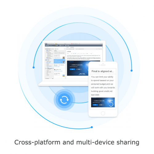 Maxthon personal cloud makes cross platform sharing easy