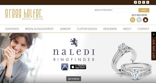 Thiết kế website cửa hàng bán trang sức chuyên nghiệp