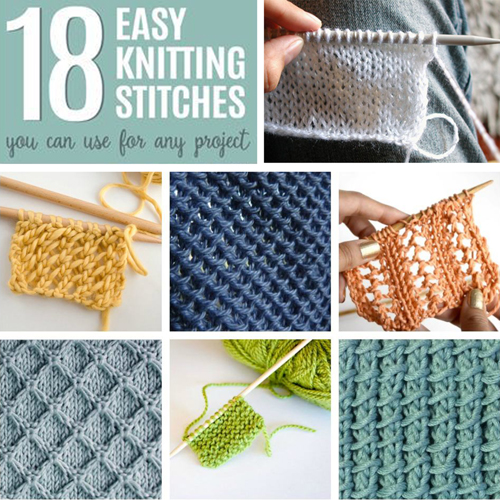 Easy Knitting Stitches You Can Use for Any Project