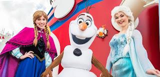 El crucero de Disney Frozen no navegara por ahora en el Caribe