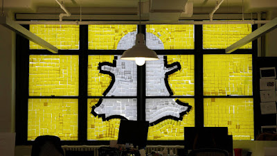 Snapchat valorada en 20.000 millones