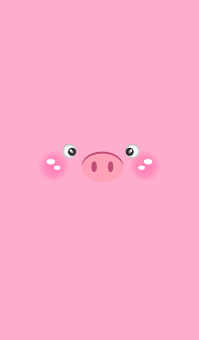Simple Pink Cute Pig theme v.2