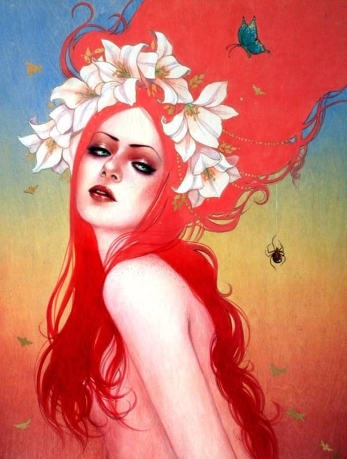 Современная художница. Sylvia Ji 15