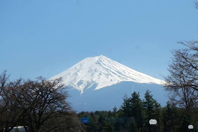 Beautiful Mt Fuji from Fuji Q Highland Japan