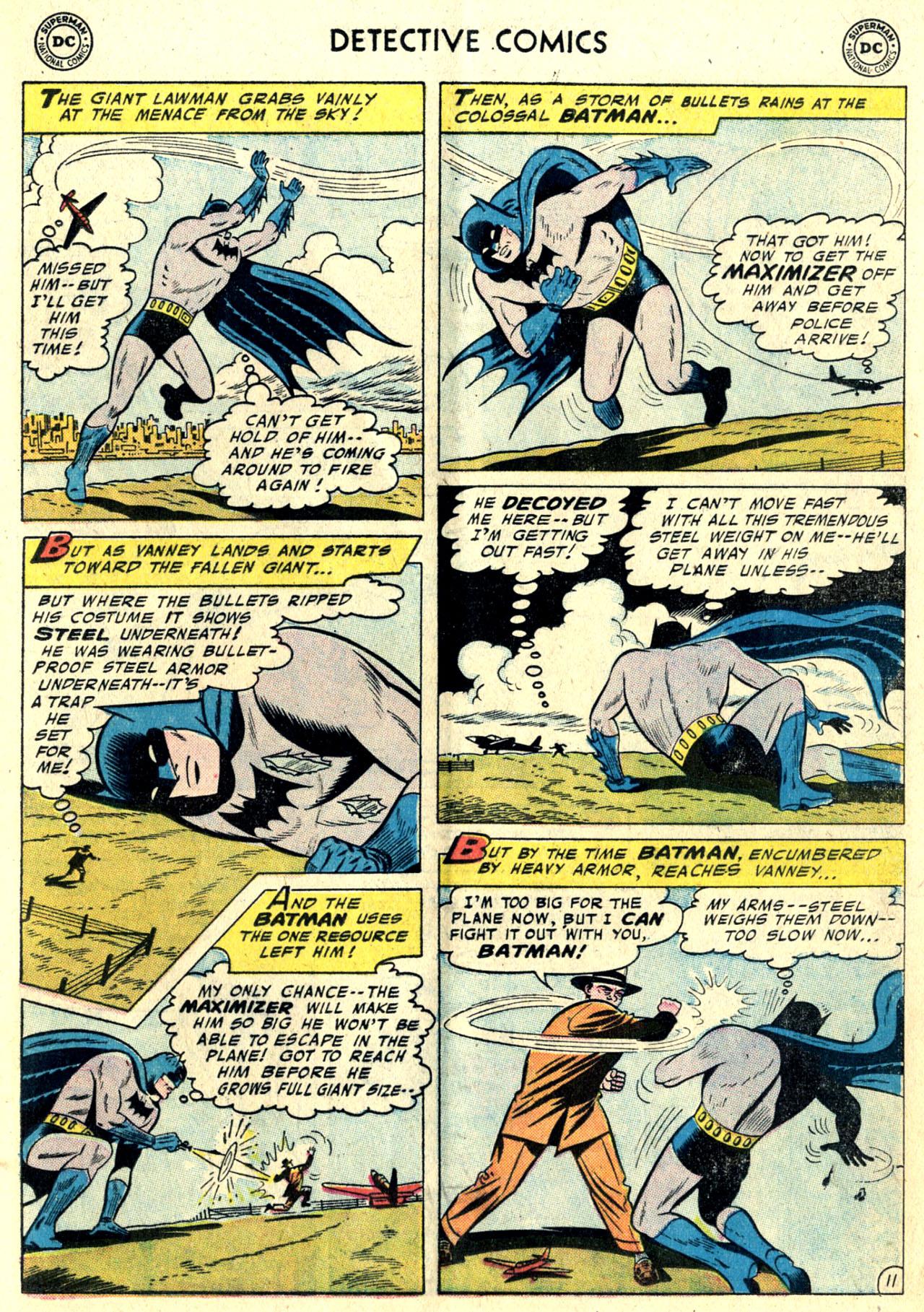 Read online Detective Comics (1937) comic -  Issue #243 - 13