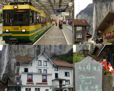 Wengneralpbahn, Staubbach Lauterbrunnen Hotel Jungfrau now serving Chinese Food