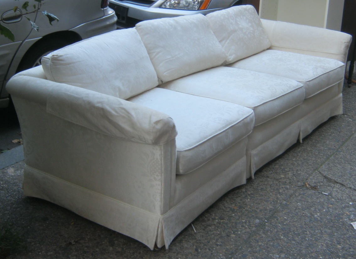 damask sofa bed day uhuru furniture and collectibles two piece in ivory