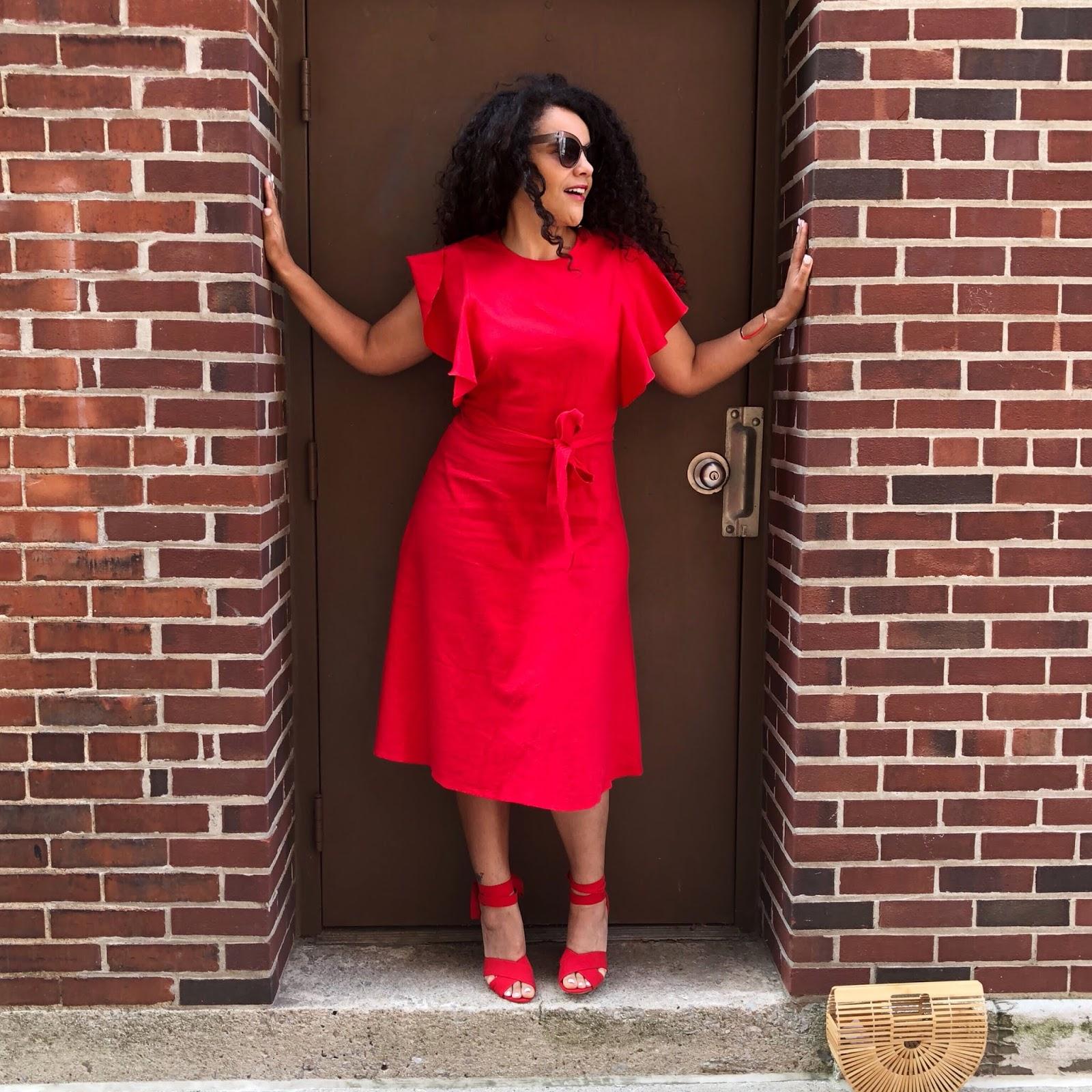 Curlybyrdie Chirps: Be Bold Wear Red