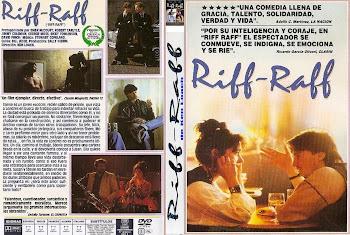 Carátula dvd: Riff-Raff (1990)