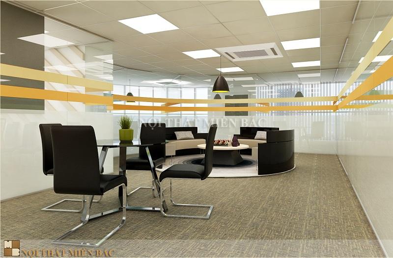 Thiết kế trọn gói nội thất văn phòng với ý tưởng độc đáo