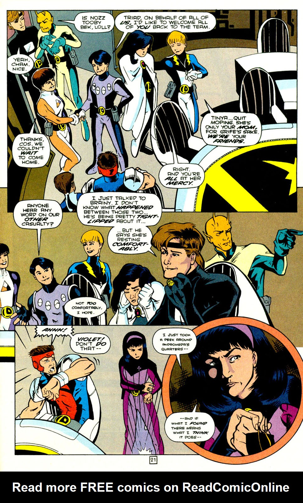 Legion of Super-Heroes (1989) 70 Page 22