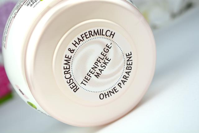 Garnier Wahre Schätze Sanfte Hafermilch Feuchtigkeitsspendende Tiefenpflege-Maske | Deckel