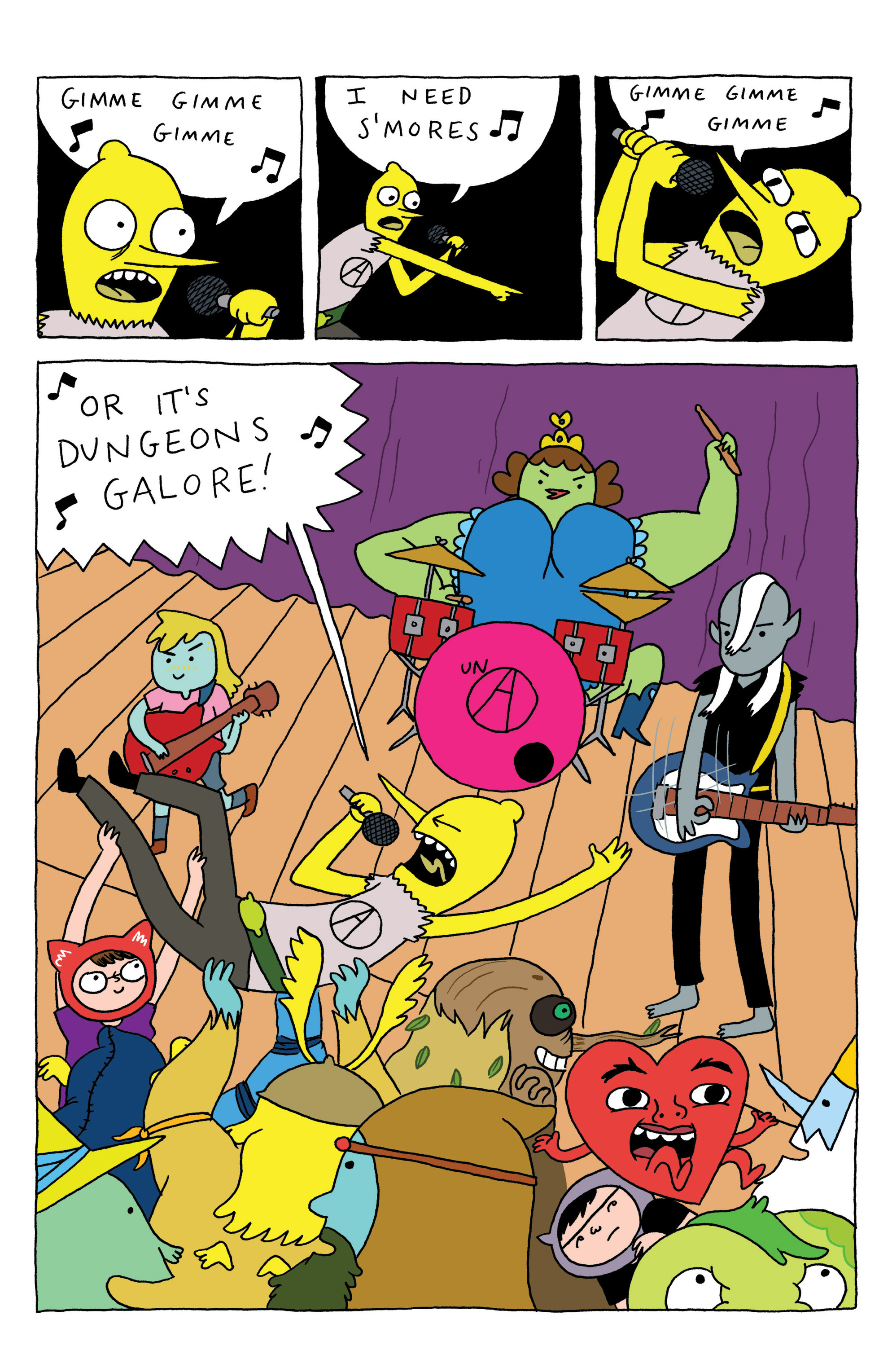 Read online Adventure Time: Marceline and the Scream Queens comic -  Issue #3 - 26
