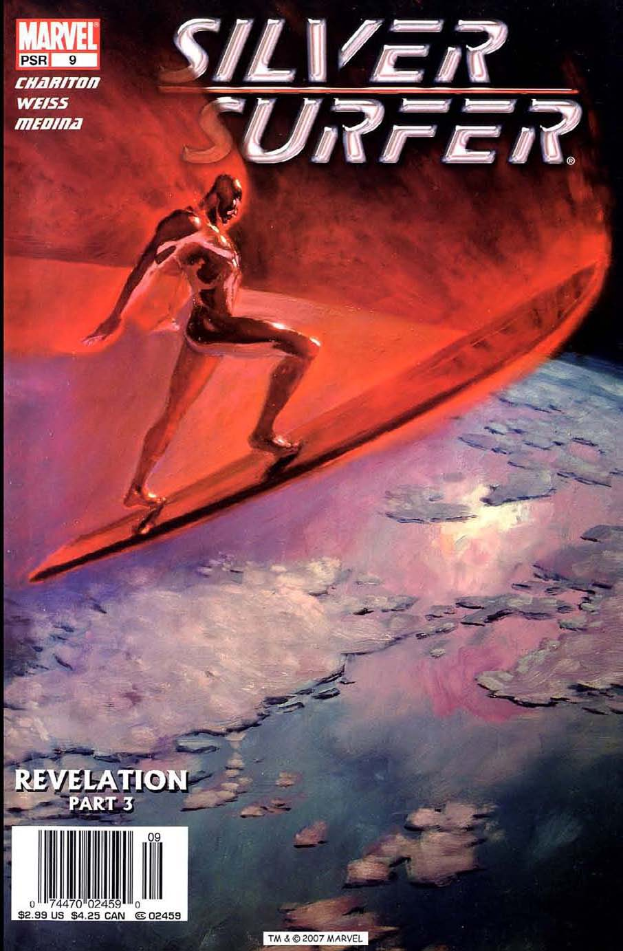 Read online Silver Surfer (2003) comic -  Issue #9 - 1