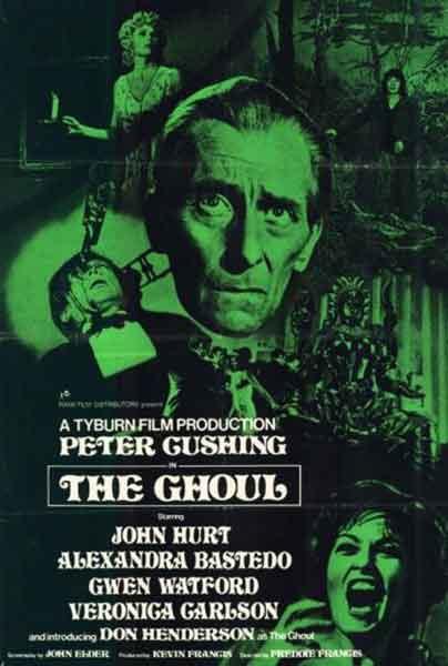 El necrófago / The Ghoul (1975) una excelente película dirigida por Freddie Francis