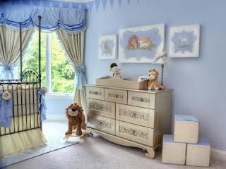 cuarto de bebé varón