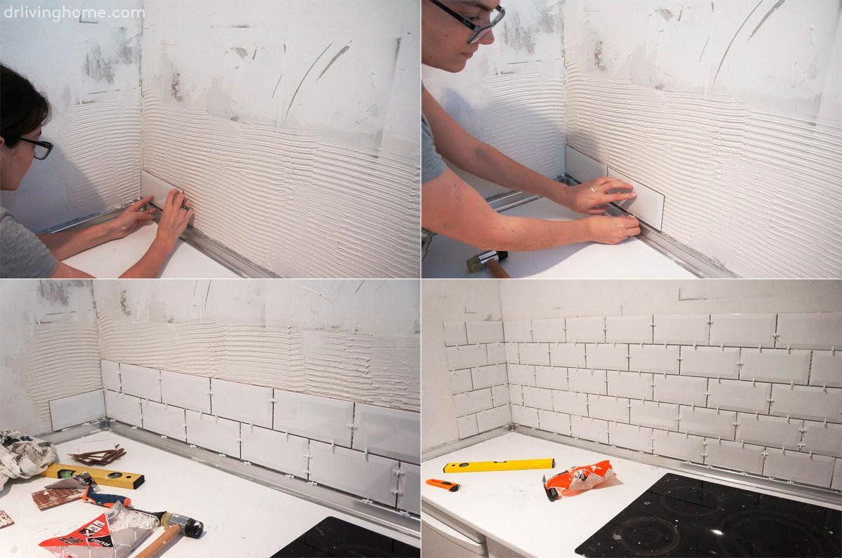 Renovar la cocina sin obras iii c mo alicatar sobre for Cocina sin azulejos