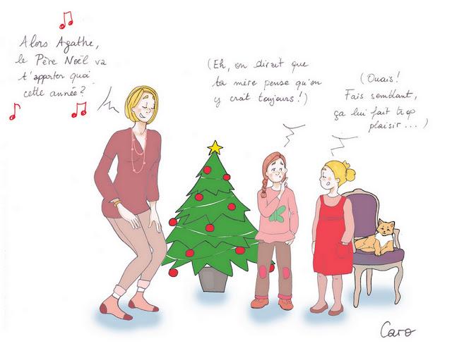 Père Noël : quand la croyance disparaît ...