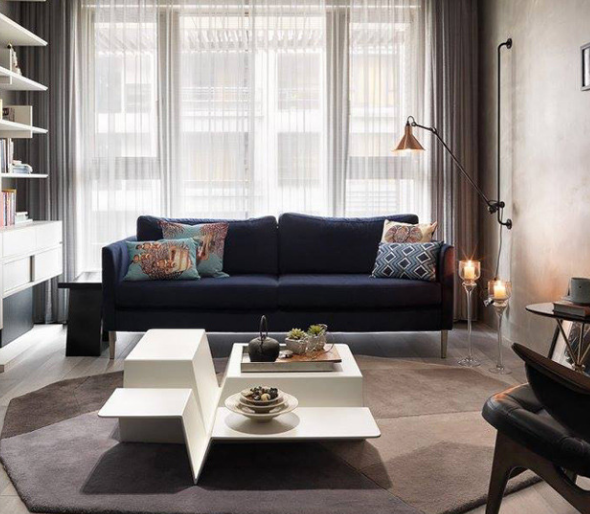 Desain Dan Dekorasi Interior Ruang Tamu Minimalis