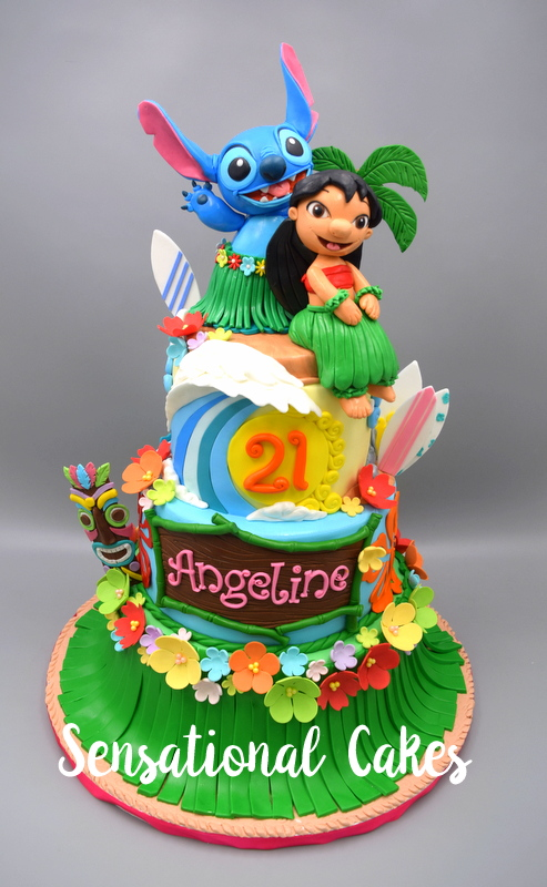 The Sensational Cakes Lilo Stitch Best Cake Ever 3d Lilo And