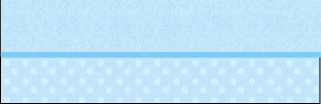 Light Blue with Polka Dots Free Printable Labels.