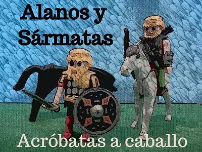 Bárbaros Alanos y Sármatas