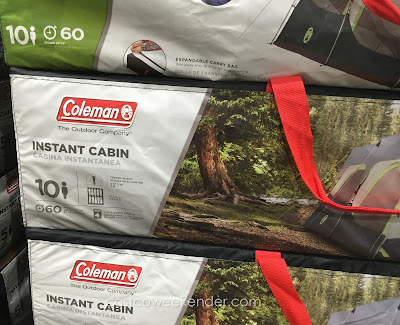 Coleman 10-Person Instant Cabin Tent: spacious and great for large groups