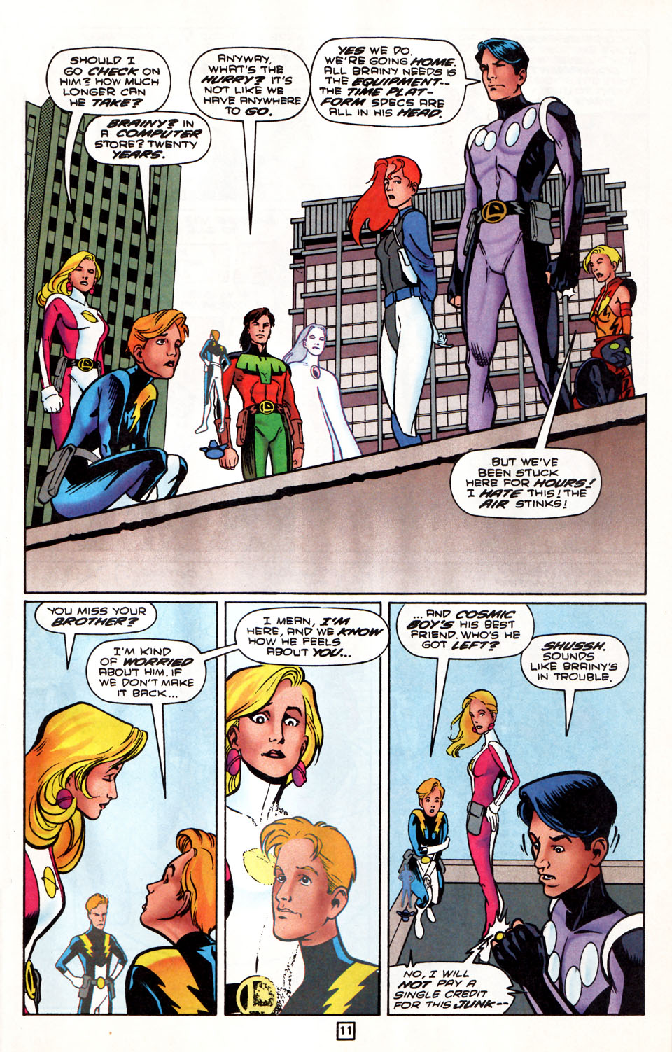 Legion of Super-Heroes (1989) 86 Page 11