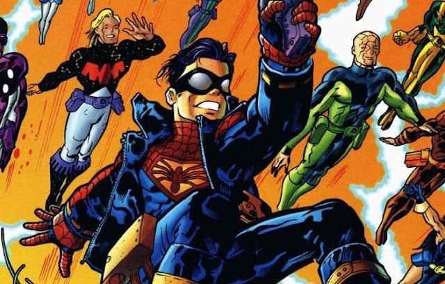 karakter amalgam gabungan superhero marvel dan dc