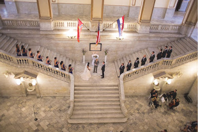 St Louis City Hall Wedding Ceremony