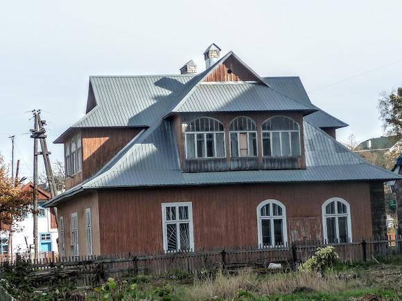 Посёлок Выгода. Старый дом