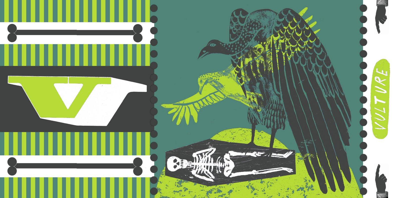 Alice Pattullo V Is For Vulture