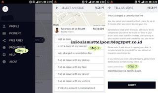 Cara Komplain Melalui Aplikasi Dan Alamat Email Uber Indonesia