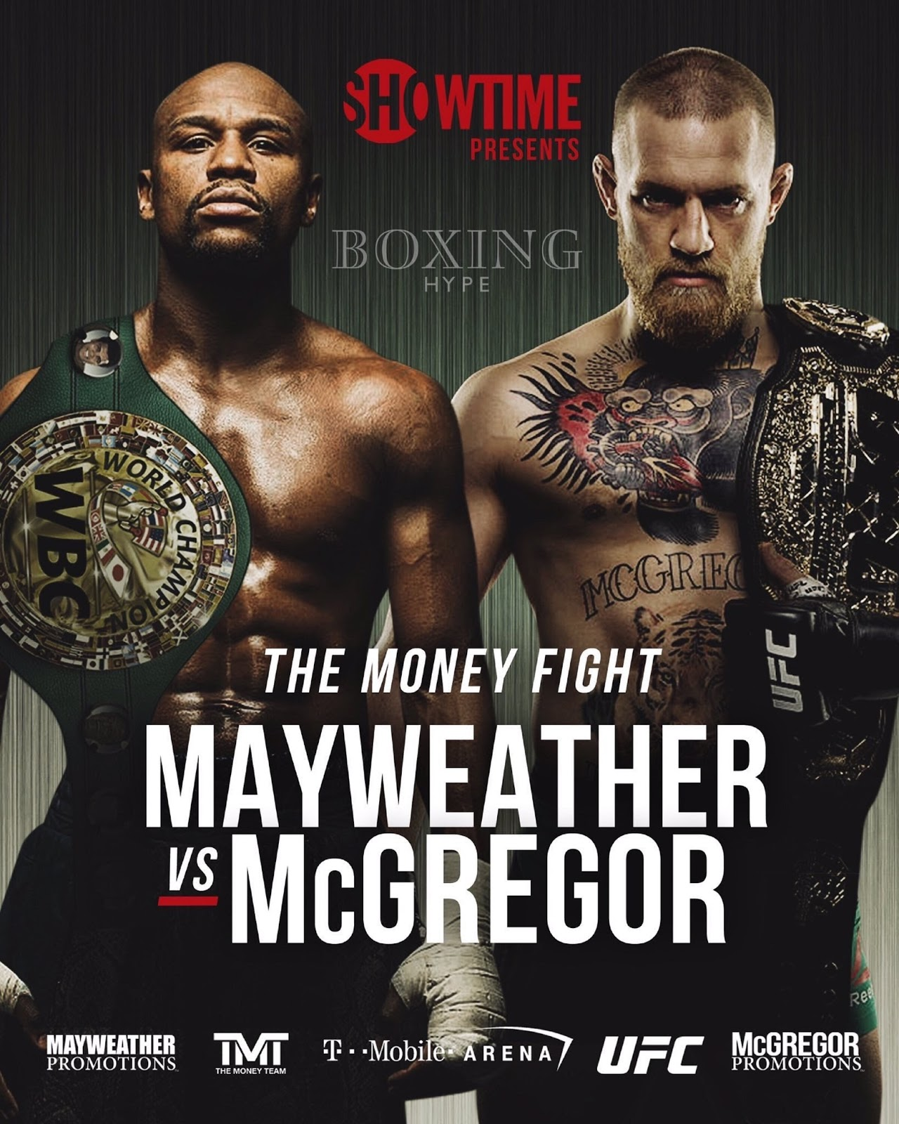 FLOYD MAYWEATHER VS. CONOR MCGREGOR 23