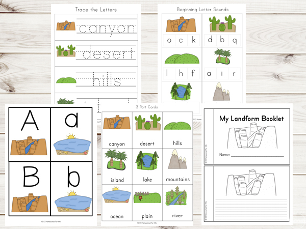 landforms-worskheets-for-kids-preschool-kindergarten-first-grdae-2nd-grade