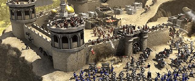 تحميل لعبة صلاح الدين القديمه والجديدة برابط واحد مباشر Stronghold Crusader