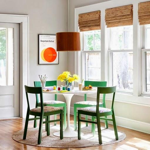 Comedores con mesa redonda colores en casa - Comedores mesa redonda ...