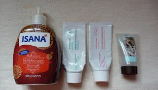 Kosmetyki, które ostatnio zużyłam - marzec i kwiecień