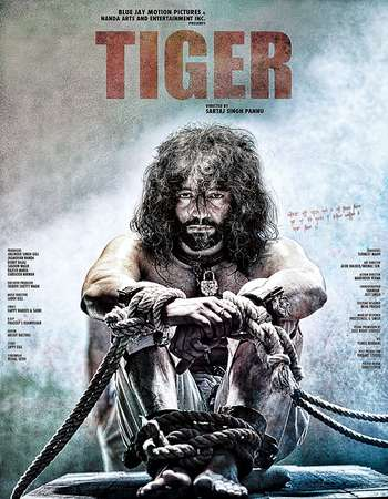 Poster Of Tiger 2016 Punjabi 720p   Watch Online Free Download worldfree4uk.com