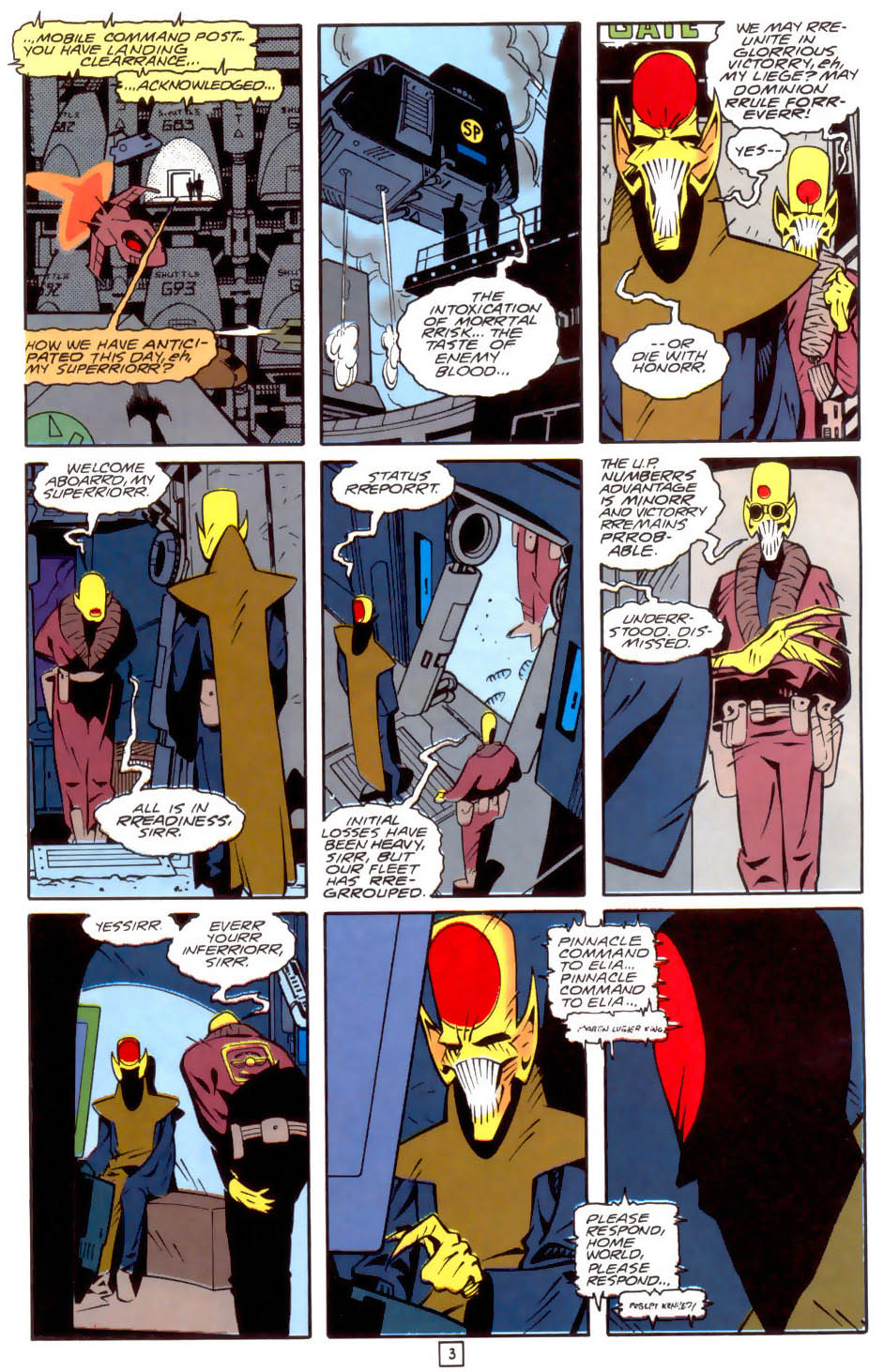 Legion of Super-Heroes (1989) 34 Page 3