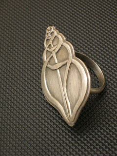 Silver Art Jewelry Ring