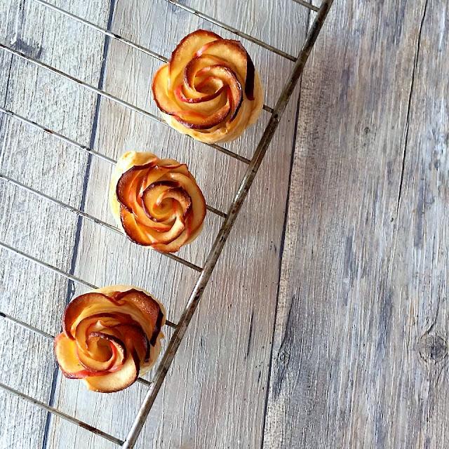 Mini Apple Rose Tartlets