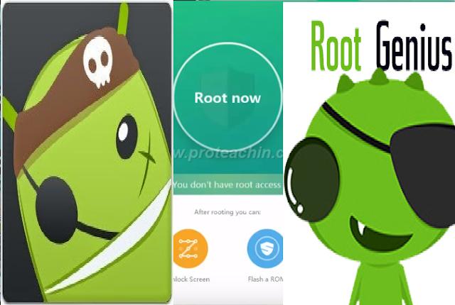 برنامج Root Genius لعمل روت لهواتف الأندرويد في ثواني معدودة