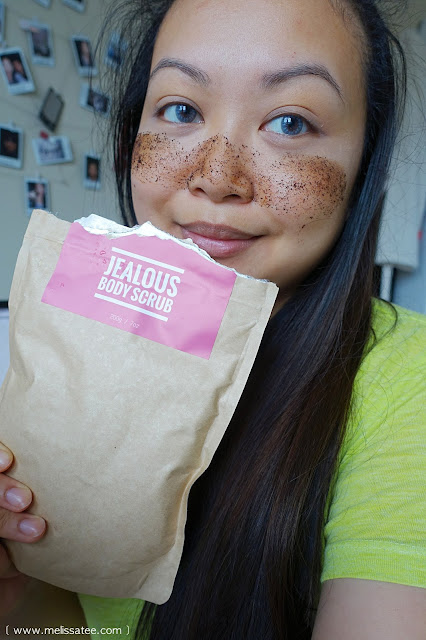 jealous body, jealous body scrub, vancouver coffee scrub, coffee scrub, coffee scrub review, jealous body coffee scrub, jealous body coffee scrub review